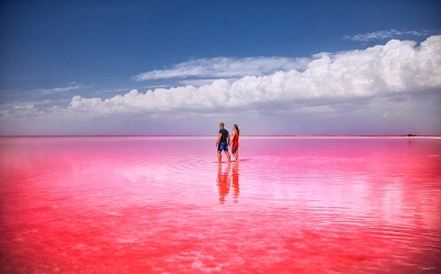Авторский тур UA: Чил на море + Розовое озеро Херсонская область/Геническая Горка